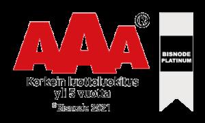 Platinum AAA logo
